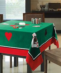Toalha de Mesa Dohler para Jogos - Cartas