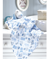 Fralda Dohler Estampado - Baby Boy 70 x 70 cm