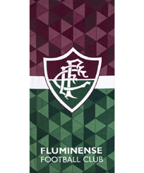 Toalha Praia Dohler Velour - Fluminense 06 - 76x152cm