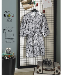 Roupão Adulto Dohler Velour Snoopy 09