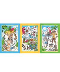 Jogo Pano Copa Dohler Felpudo Prata - Brasilidade