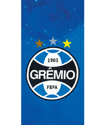 Toalha Praia Dohler Velour - Grêmio 10 - 70X140CM