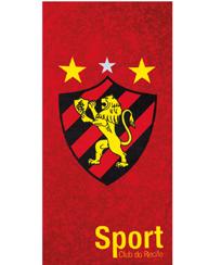 Toalha Praia Dohler Velour - Sport Club Recife 08 - 70X140CM