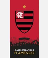 Toalha Praia Dohler Velour - Flamengo 12 - 70X140CM