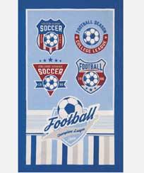 Toalha Banho Dohler Felpudo - Futebol 02