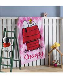 Toalha Banho Dohler Felpudo Licenciado - Snoopy 12