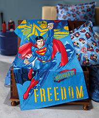 Toalha Banho Dohler Felpudo Licenciado - Superman 17