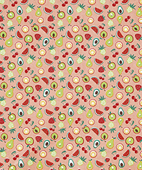 Tecido para Patchwork AM-2594 Estampado - Frutas - 5591