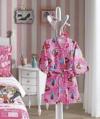 Roupão Infantil Dohler Velour - Barbie 14