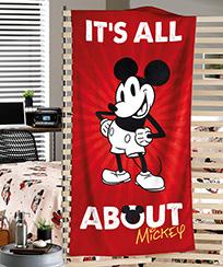 Toalha Praia Dohler Velour Licenciado Mickey 07 - 76x152cm