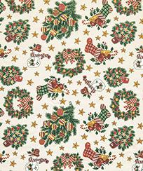 Tecido Tricoline AM-5061 Estampado Digital - 5836 D Natal