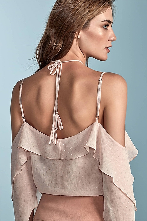 BLUSA BABADOS ICE ROSE CUT IT OUT