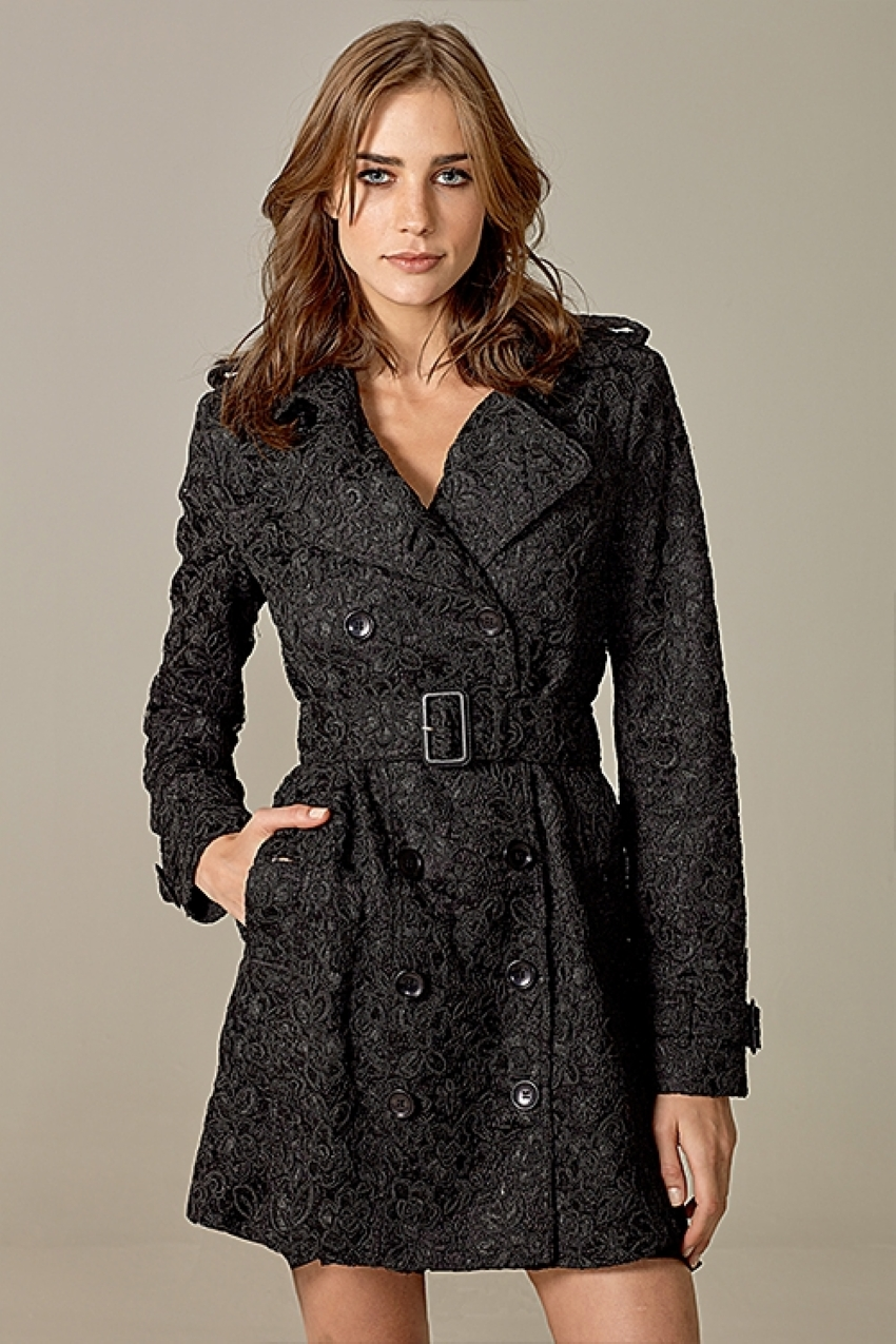 TRENCH COAT RENDA GUIPIRE