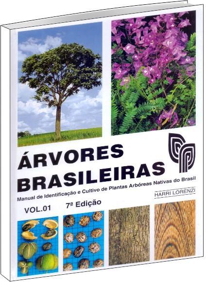 Árvores Brasileiras Vol 1 - 7ª Edição