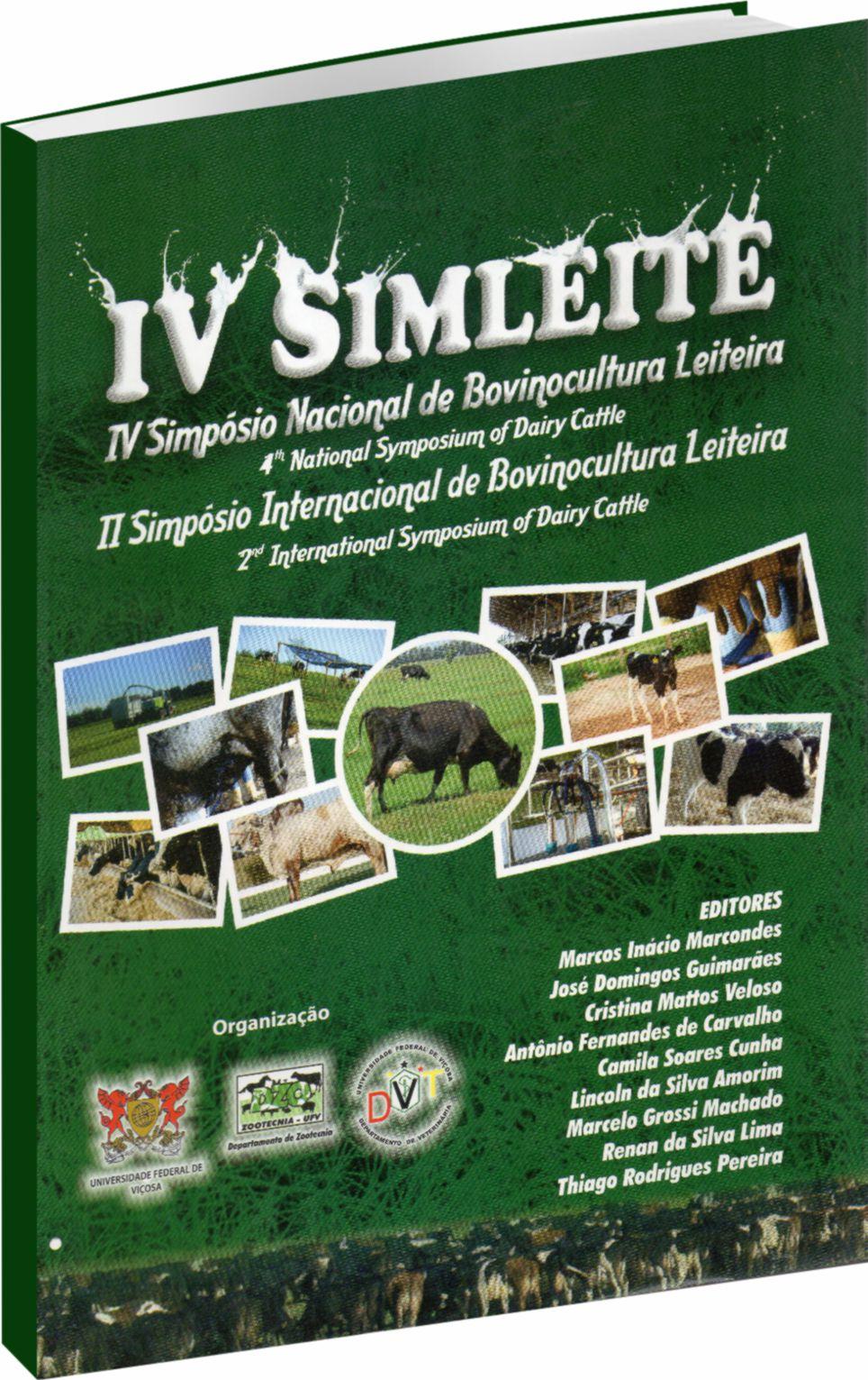 IV SIMLEITE - Simposio Nacional de Bovinocultura Leiteira