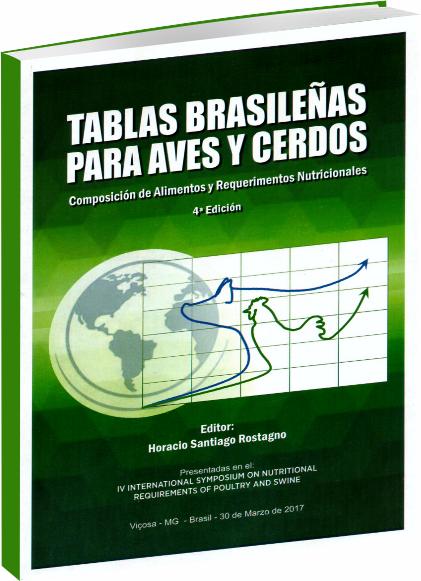 Tablas Brasilenãs para Aves y Cerdos