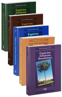 Coleção Espécies Arbóreas Brasileiras, Volume 1 a 5