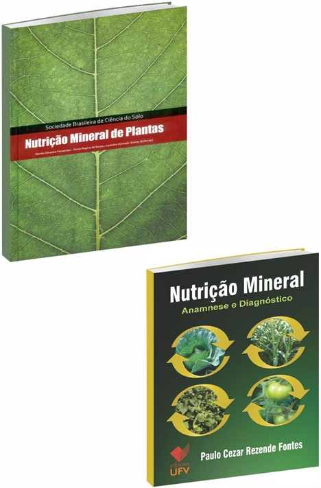Kit Nutrição Mineral de Plantas (Editora UFV e SBCS)