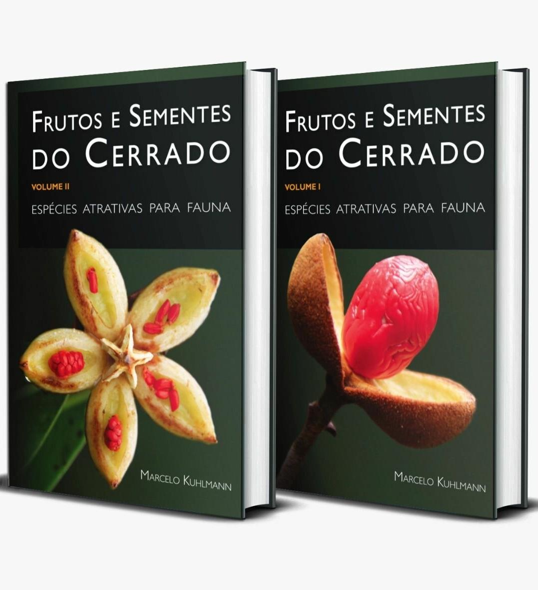 Kit Frutos e Sementes do Cerrado - Vols. 1 e 2