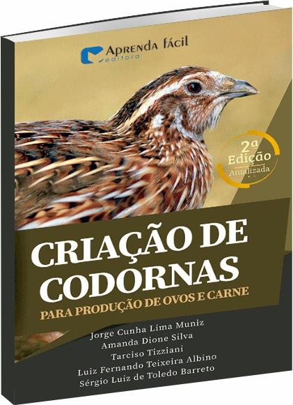 Criação de Codornas - Para Produção de Ovos e Carne