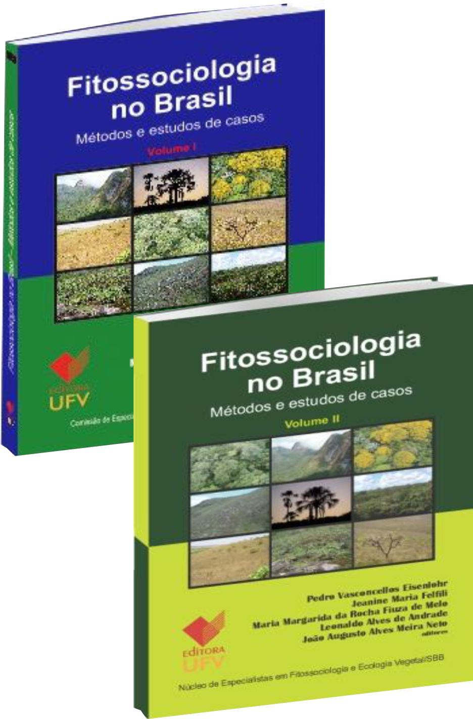 kit Fitossociologia  Vol. I + Vol. II