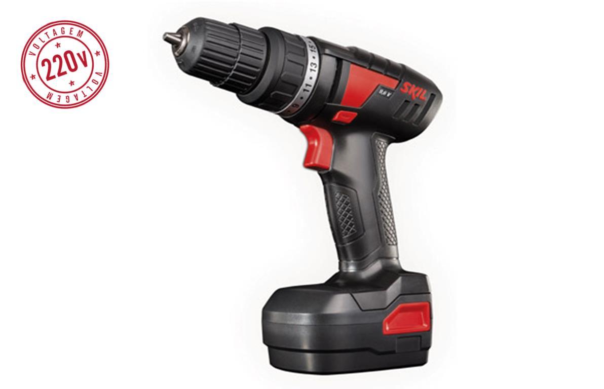 Furadeira / Parafusadeira Bosch 9,6 SKIL F0122212JA 220V