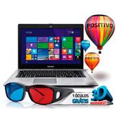 1108941 - Notebook Positivo XR2990 Celeron D CORE 2GBW8