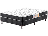 Colchão Box Umaflex Conjugado Gran Casal 138 Plus