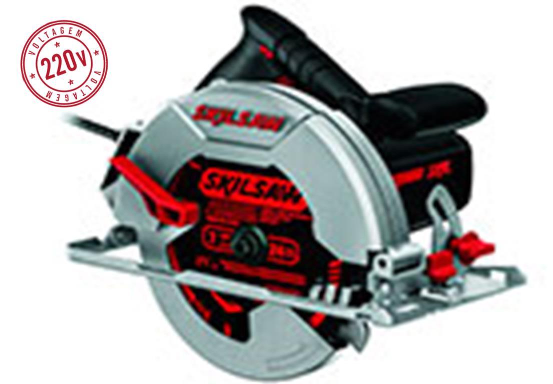 Serra Elétrica Bosch Circular 5402 Skil 7 1/4 220V