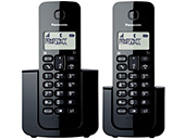 Telefone Sem Fio Panasonic Combo KXTGB112LBB