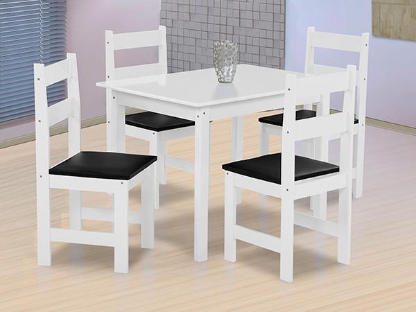 Mesa Arauna Praiana Com 4 Cadeiras