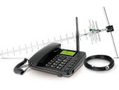 Telefone Rural Intelbras CFA 5022 Dual Chip