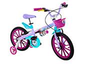 Bicicleta Bandeirante Aro 16 Frozen 2473