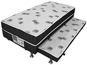 Cama Box Auxiliar Ortobom Nanolastic 88x138x37