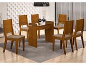 Mesa Grécia Rufato 6 cadeiras Bela