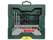 Kit Acessórios Bosch X-line 15 brocas