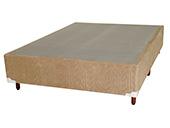 Box Ideal Casal D-45 138x188x30 Bege/Avelã