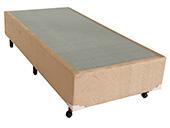 Box Solteiro Ideal D-45 88x188x30 Bege/Avelã