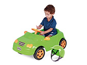 Carro Pedal Mercedes Homeplay 4125 Verde