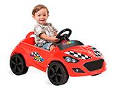 Roadster Pedal Bandeirante 427 Vermelho