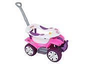 Quadriciclo Sofy Car Biemme 714 Rosa