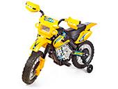Moto Elétrica Motocross Homeplay 245 Amarela