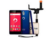 Smartphone Positivo Twist S S520 Bastão Azul/Dourado