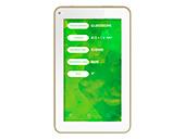 Tablet Mirage WIFI 41T 8GB NB250 QCore Dourado