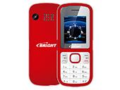 Celular Bright Barra Dual 0498 Vermelho/Branco