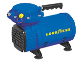 Compressor de Ar Goodyear Jet B GYCO000132 Azul Bivolt