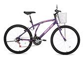 Bicicleta Houston Aro 26 Bristol Lance Feminina BR262Q