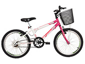 Bicicleta Aro 20 Charmy 4025 Athor Cor Variada