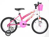 Bicicleta Athor Aro 16 Top Girl 4006 Cor Variada
