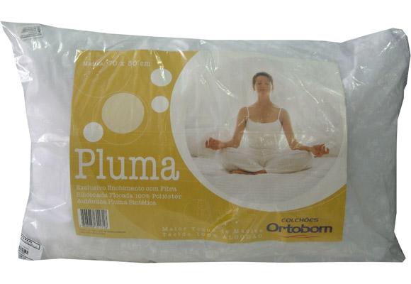 Travesseiro Ortobom Pluma